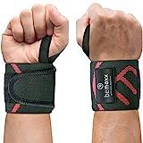 Handgelenk Bandagen Fitness Krafttraining - 2x Wrist Wraps Handgelenkbandagen Handgelenkstütze für...