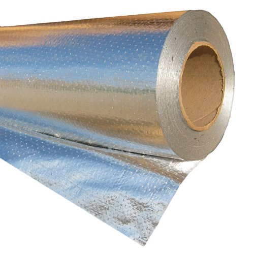 RadiantGUARD XTREME Radiant Barrier Metalized INDUSTRIAL Grade 1000 sq ft roll   48-inch by 250-feet   X-1000-B   Reflective Radiant Barrier Perforated Foil Attic Foil – Blocks 95% of Heat