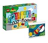 Collectix Lego DUPLO Set – Il mio primo carrello ABC (10915) + il mio primo razzo spaziale (30322), set regalo a partire dai 18 mesi
