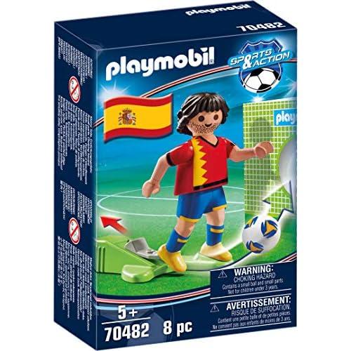Playmobil Sports & Action 70482 - Calciatore Spagna, dai 5 anni