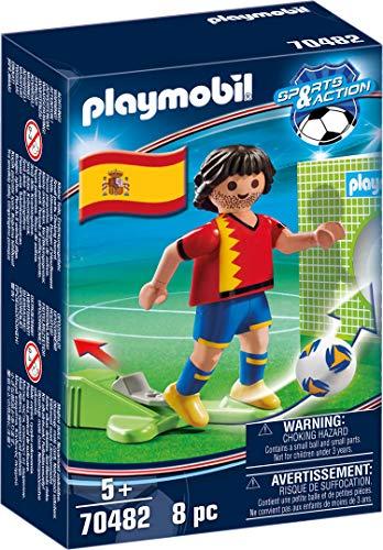 PLAYMOBIL- Sports & Action Jugador de Fútbol, España, Multicolor (70482)
