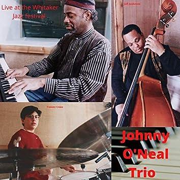 The Johnny O'Neal Trio Live (Live)