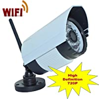 iSmart New Wireless WiFi HD IR Bullet IP Smartphone CCTV Security Camera with NightVision
