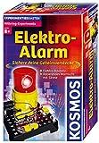 KOSMOS 659172 - Elektro-Alarm, Sichere deine Geheimverstecke, Elektro-Bausatz, Blinkendes Warnlicht mit Sirene, Experimentierset für Kinder ab 8 Jahre -