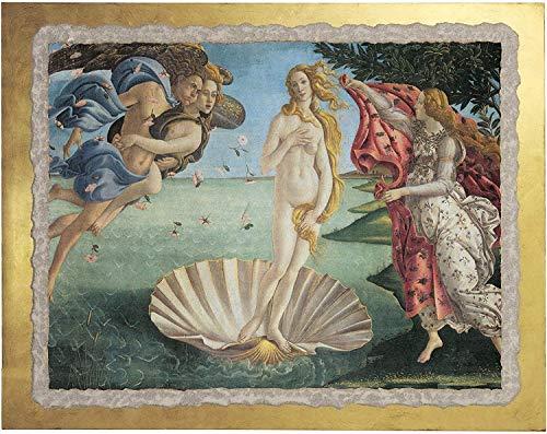 Ars Martos -'Venere' Botticelli. Riproduzione d'Arte in Affesco su Intonaco. Disponibile in varie misure e finiture.