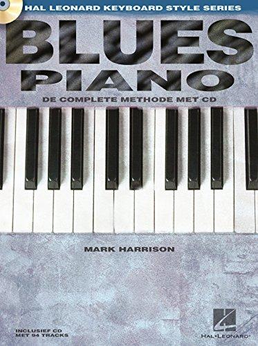 Blues Piano (NL)–Piano–Book + CD