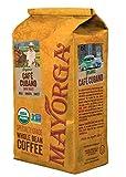 Mayorga Organics Café Cubano, Dark Roast Whole Bean Coffee, 2lbs Bag, Specialty-Grade, 100% USDA Organic, Non-GMO Verified, Direct Trade, Kosher