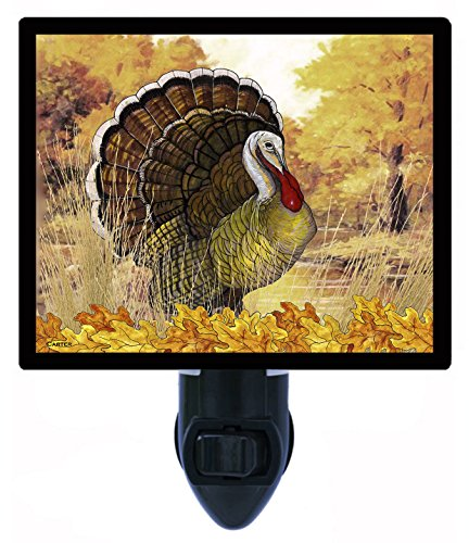 Night Light, Fall Turkey, Thanksgiving, Wildlife, Hunting LED Night Light