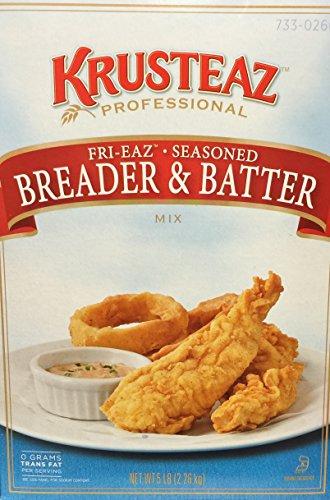 5 Pounds Krusteaz Fri-Eaz Seasoned Breader & Batter Mix (One Unit)