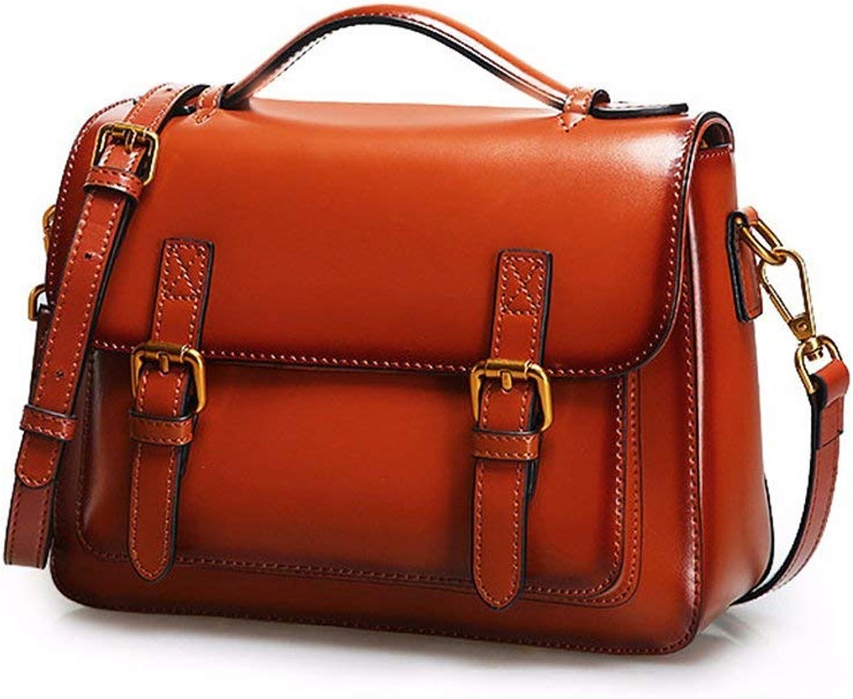 MDD Umhngetasche Damen Umhngetasche Handtasche Retro Groe Kapazitt Reiverschluss Wilde Freizeit Reisetasche Geldbrse Leicht und praktisch Schn im Aussehen