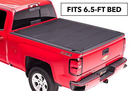 BAK BAKFlip MX4 Hard Folding Truck Bed Tonneau Cover | 448121 | Fits 2014-20 GM Silverado,...