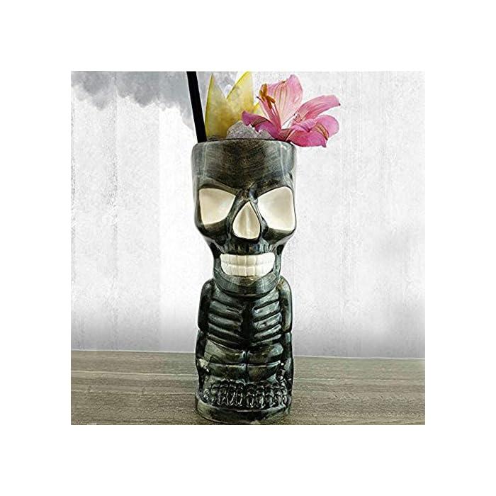 Barconic Tiki Drinkware Skeleton 10 Ounce