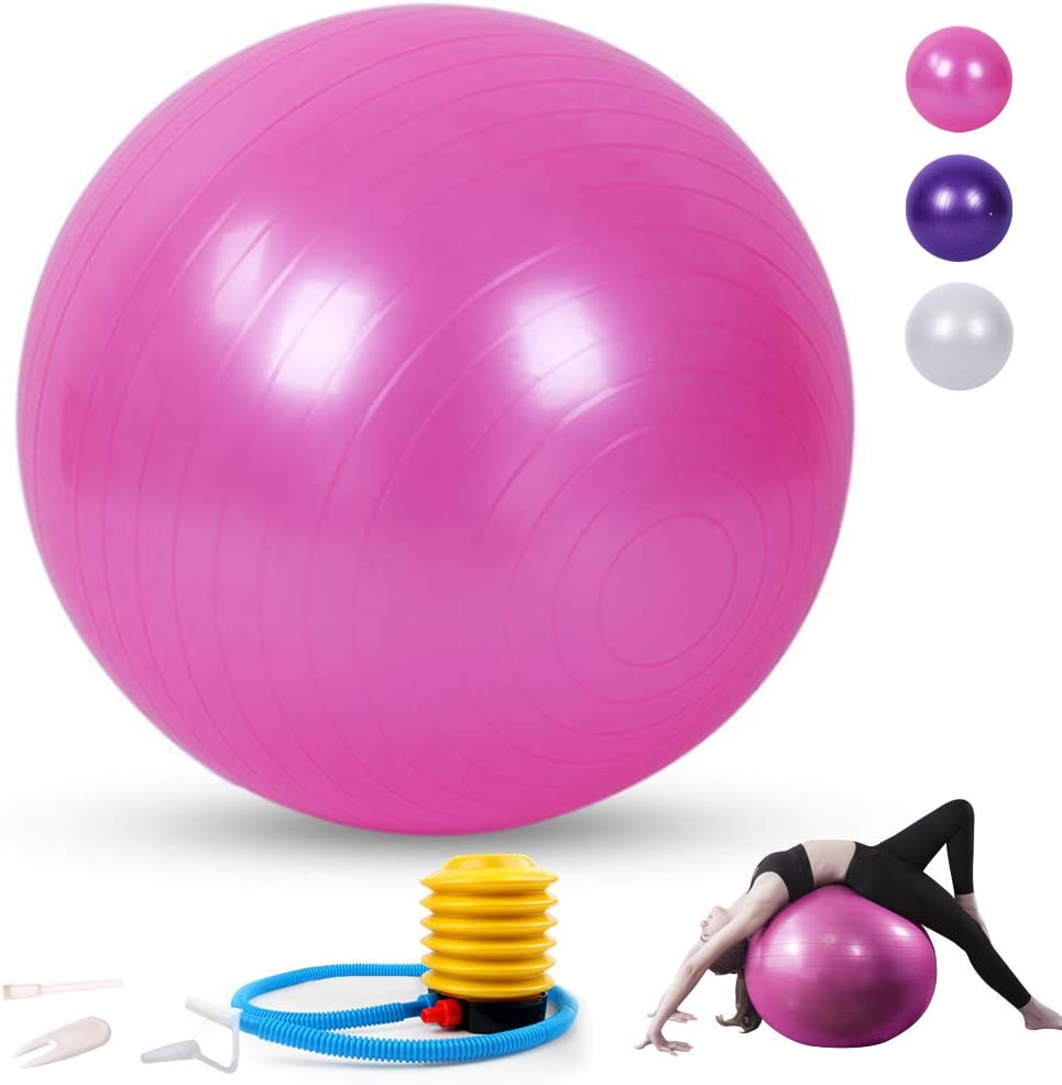 Sodeno 75cm Yoga Ball Jacksonville Mall Exercise for Stability Fitness Rapid rise Bal