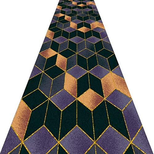 CarPET Stair Runner 3D Printed Anti Mud Mat Floor Mat Rugs Hallway Rug (Color : A, Size : 1 × 8m)