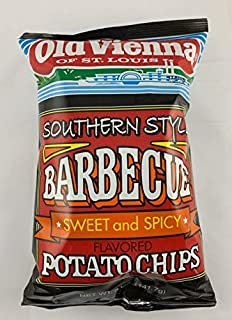 Old Vienna of St Louis Southern Style Barbecue Sweet and Spicy Potato Chips 5 oz Bag