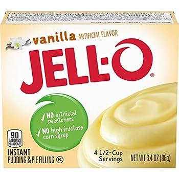 vanilla pudding jello