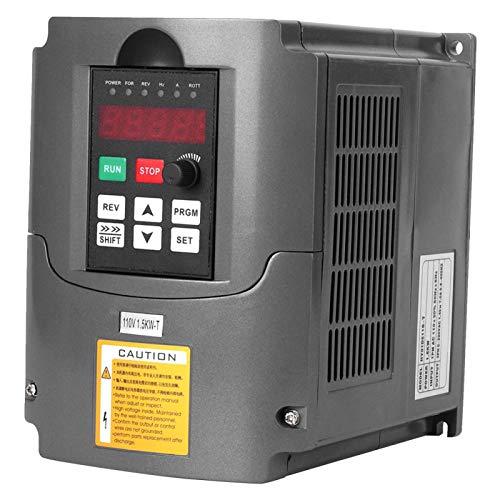 Natruss Inversor monofásico, Controles de Motor de Entrada de 1.5KW 110V, variadores...