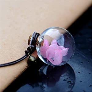 ZENGJIABIN Car Pendant Glass Perfume Empty Hanging Bottle With Flower Auto Interior Decoration Perfume Container With Wood Cap Ornaments