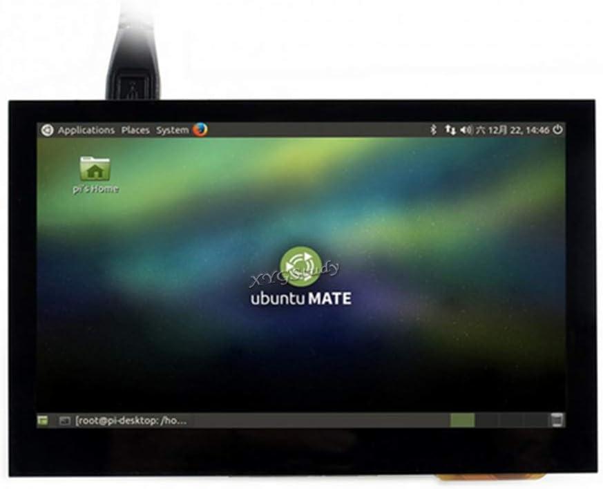 4.3inch HDMI LCD (B), IPS Screen HDMI Interface 4.3 inch 800x480 Capacitive Touch Screen Supports Multi Mini-PC Systems Raspberry Pi BB Black Banana Pi Raspbian Ubuntu Windows 10 8 7 @XYGStudy