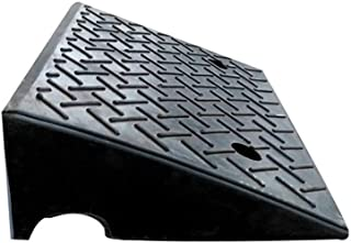 Truck Ramps, Factory Entrance Vehicle Ramps Shopping Mall Supermarket Service Ramps Multifunction Kerb Ramps 14CM (Color :...