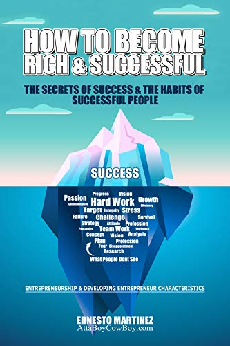 How to Become Rich and Successful. The Secret of Success and the Habits of Successful People.: Entrepreneurship and Developing Entrepreneur Characteristics. (English Edition)