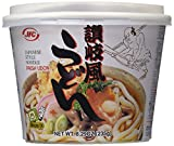 Udon noodles are used for soups, salads, and stir fries; in their own serving bowl with a seasoning packet; ready in minutes; nutritious Nutritious Perfect for lunch, dinner or as a snack