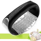Stainless steel kitchen garlic press garlic mincer