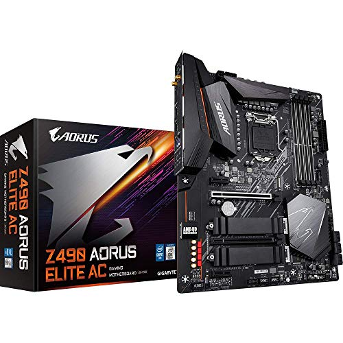 Gigabyte Z490 Aorus Elite AC, Intel Z490 Mainboard - Sockel 1200