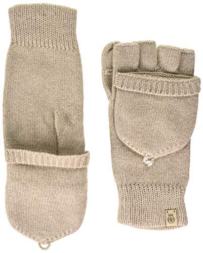 Roeckl Damen Essentials Kapuzenhandschuh Handschuhe, Cashmere, ONE SIZE