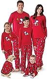 PajamaGram Family Pajamas Matching Sets - Snoopy Pajamas, Red, 8