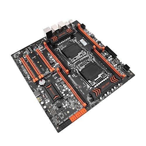 Gaming mainboard mit prozessor Motherboard-Serie-Prozessor Fit for Huananzhi X99 F8D X99 Intel Dual CPU X99 LGA 2011-3 E5 V3 DDR4 RECC 256GB USB3.0 E-ATX-Server