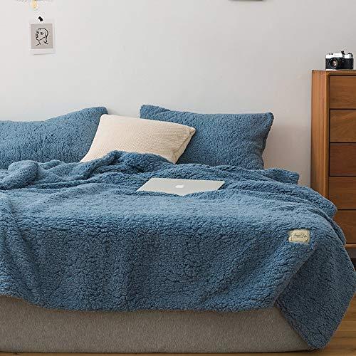 LUNANA gooit dekens fleece dubbele super zacht pluizig bed dekens gooit warm deken voor bank kerst gooit Khaki deken sprei - 200X230cm