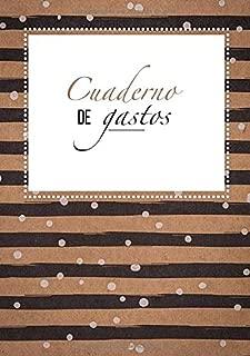Cuaderno de Gastos: Libreta de cuentas de casa |  Un práctico cuaderno para controlar tus ingresos y gastos - Budget Planner y Cuaderno de contabilidad y cuentas (Spanish Edition)