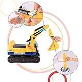 Zoom IMG-1 hikole escavatore giocattolo 2x1 cavalcabile