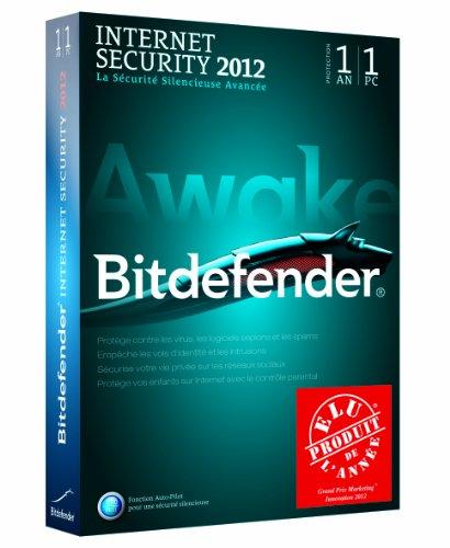 Bitdefender Internet Security 2012 (1 poste, 1 an)