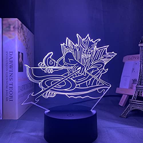 Pretty Store Naruto Itachi Bros Night Light Light 3D Illusion DIRIGIÓ Lámpara De Mesa para Decoración De Dormitorio Mood Sleep Light Boys Directo DE CUMPLEAÑOS DE CUMPLEAÑOS (Color : Frosted Base)