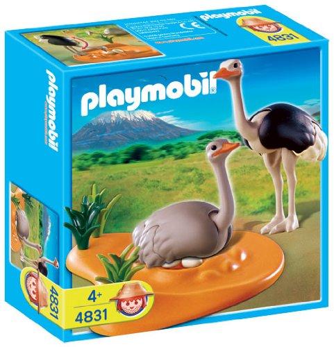 Playmobil Africa 4831 Famiglia di Struzzi