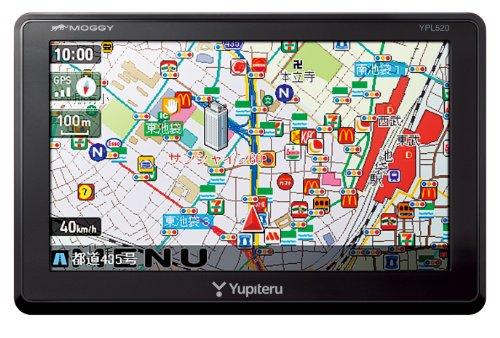 『ユピテル 5.0型 ポータブルカーナビ YPL520』のトップ画像
