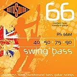 Rotosound Stainless Steel Standard Gauge Medium Scale Roundwound Bass Strings (40 50 75 90)