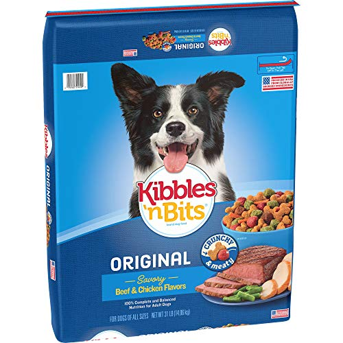 Kibbles  n Bits Original Savory Beef & Chicken Flavor Dry Dog Food  31-Pound