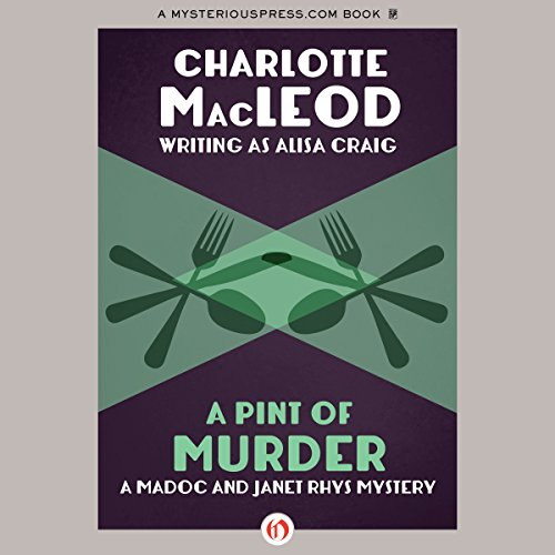 A Pint of Murder audiobook cover art