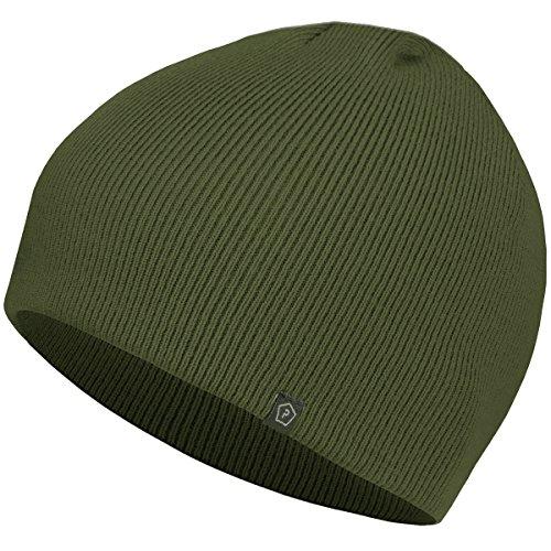 Pentagon Knitted Wool Watch Cap Olive Vert