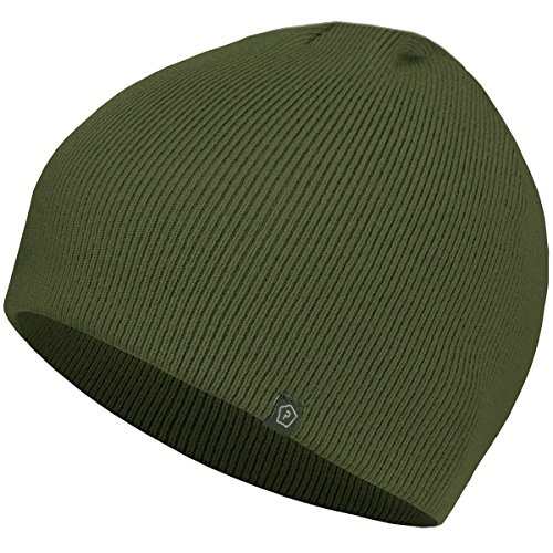 Pentagon Knitted Wool Watch Cap Olive Vert