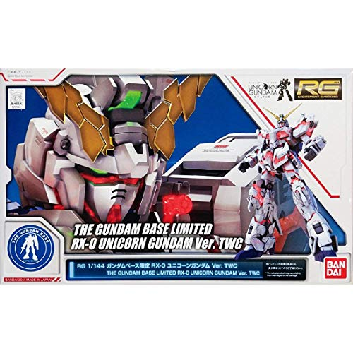 THE GUNDAM BASE Limited RG 1/144 RX-0 Unicorn Gundam ver.TWC model kit