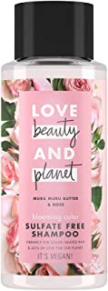 Love Beauty and Planet Shampoo Blooming Color Murumuru Butter & Rose, 400ml