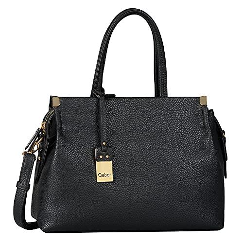 Gabor bags GELA Damen Shopper M, black, 35x13,5x24