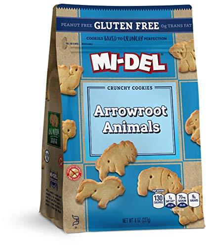 Mi-Del Gluten Free Cookies, Arrowroot, 8 Ounce