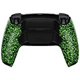 eXtremeRate Textured Green Programable Rise Remap Kit for PS5 Controller BDM-010, Upgrade Board & Redesigned Back Shell & Back Buttons Attachment for PS5 Controller - Controller NOT Included