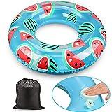Flotador de aro fruta hinchable con diseño de Sandías