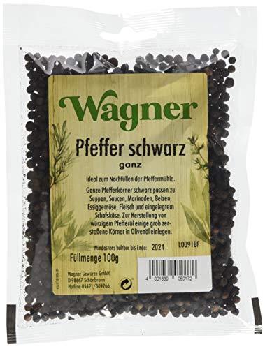 Wagner Gewürze Pfeffer schwarz ganz (1 x 100 g)